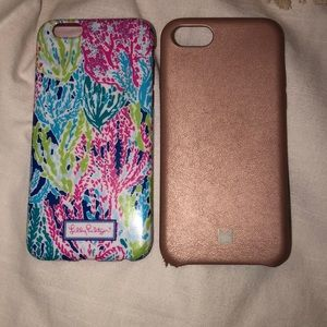 Bundling two iPhone 6/7 cases! One lily pulitzer